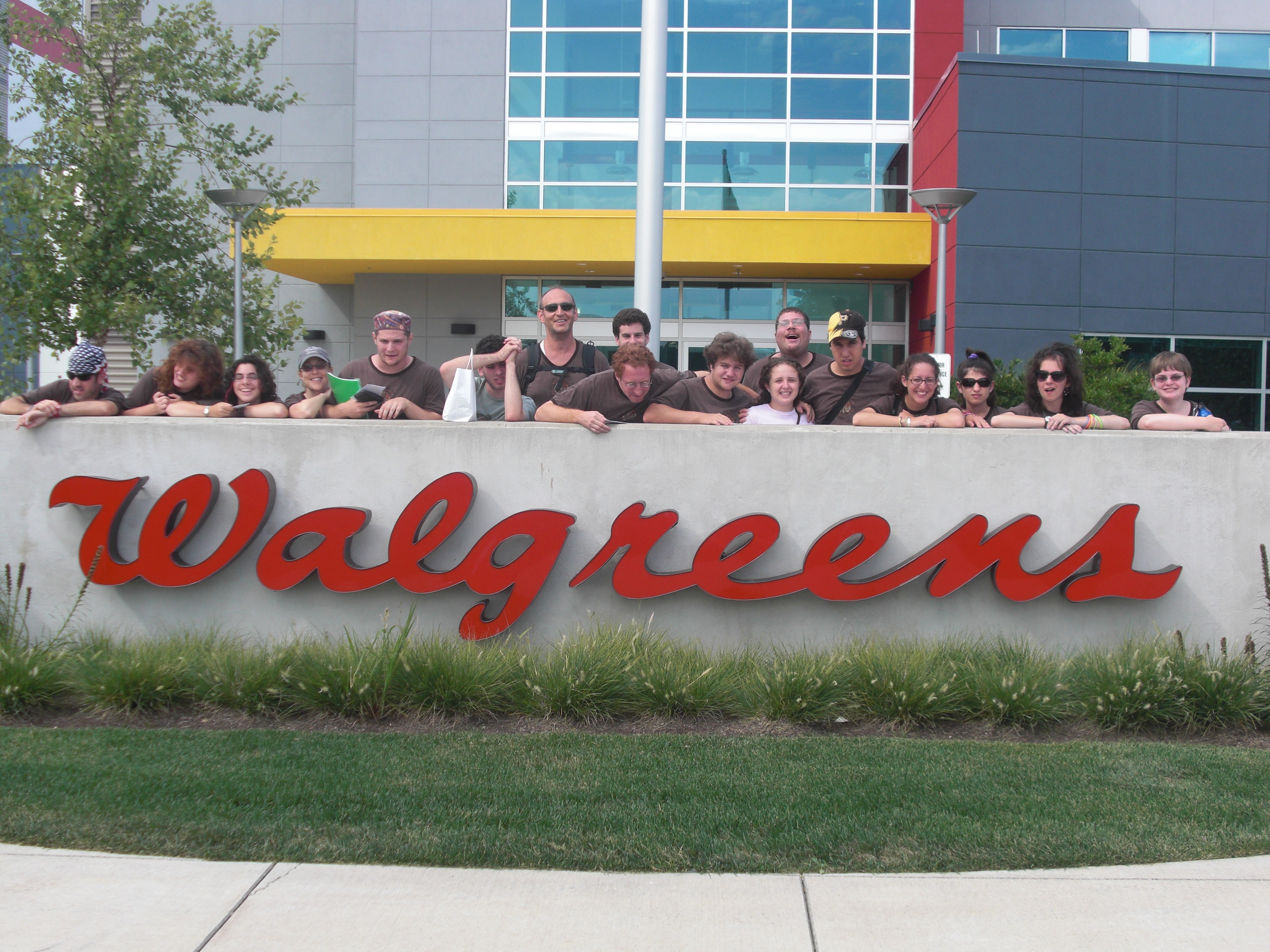 Voc Ed, The Marriott and Walgreens - Camp Ramah